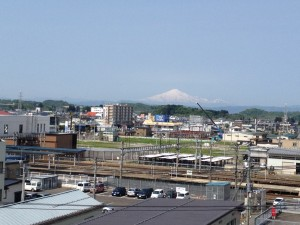 Y2から見た鳥海山
