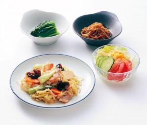 野菜350gの調理例