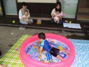サロン 水遊び4
